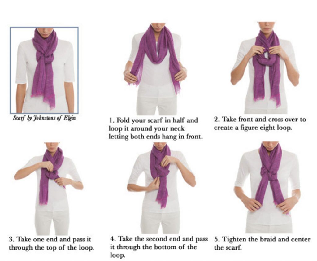The Braid-7 ways to style your Pashmina scarf