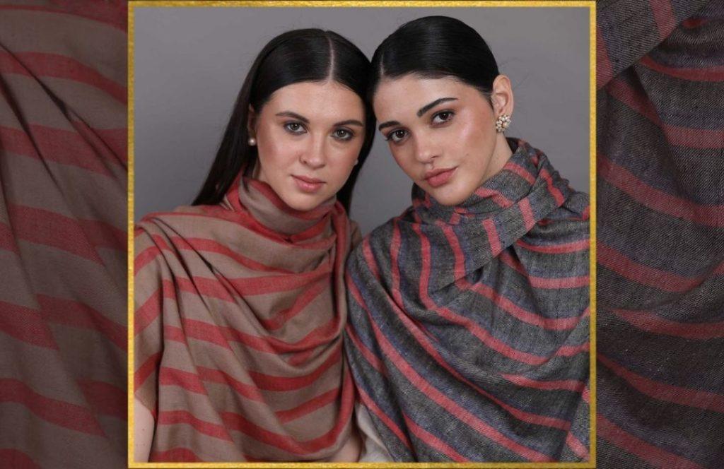 Modern design pashmina shawls