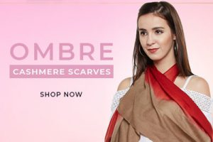 ombre pashmina scarves