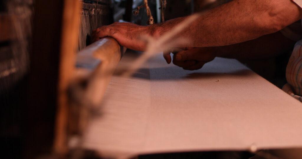 Handweaving of Pashmina