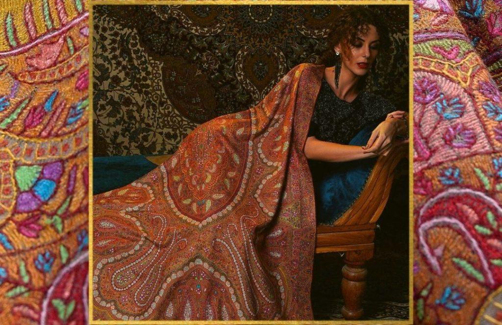 Who has everything - Sozni Jamawar Pashmina Shawls