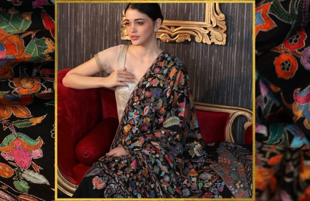 Who has everything - Papier Mache Embroidered Pashmina Shawls