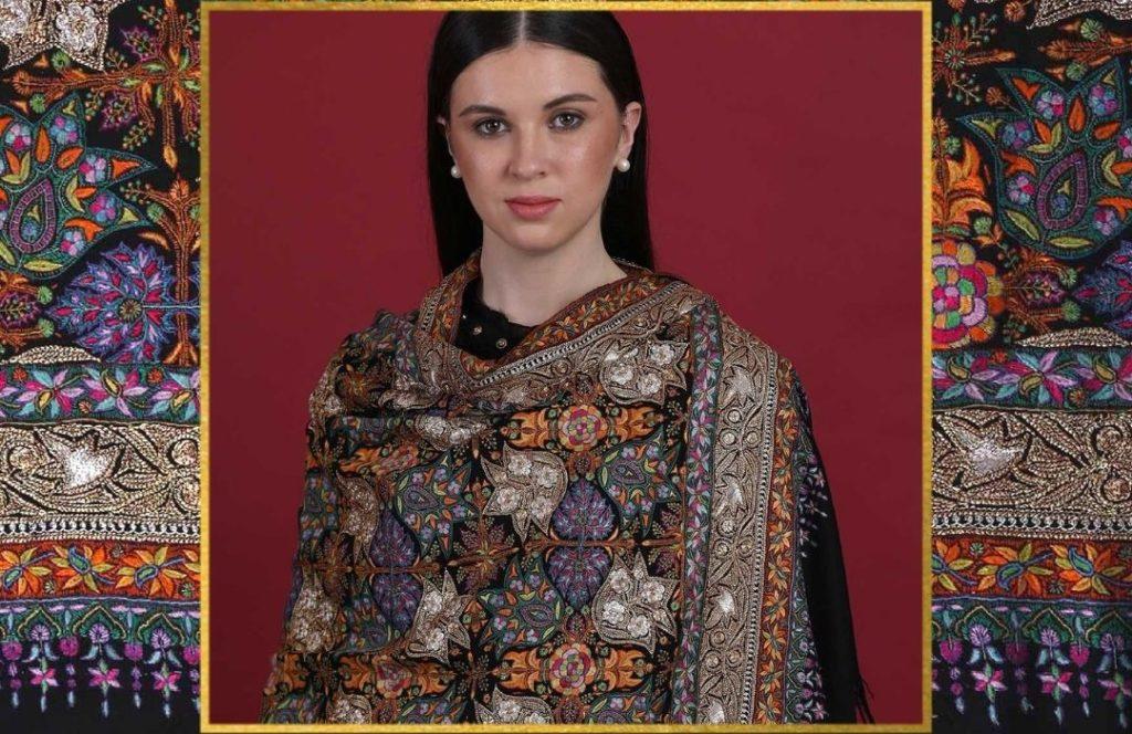 Luxury Gifting - Zari Pashmina Shawl