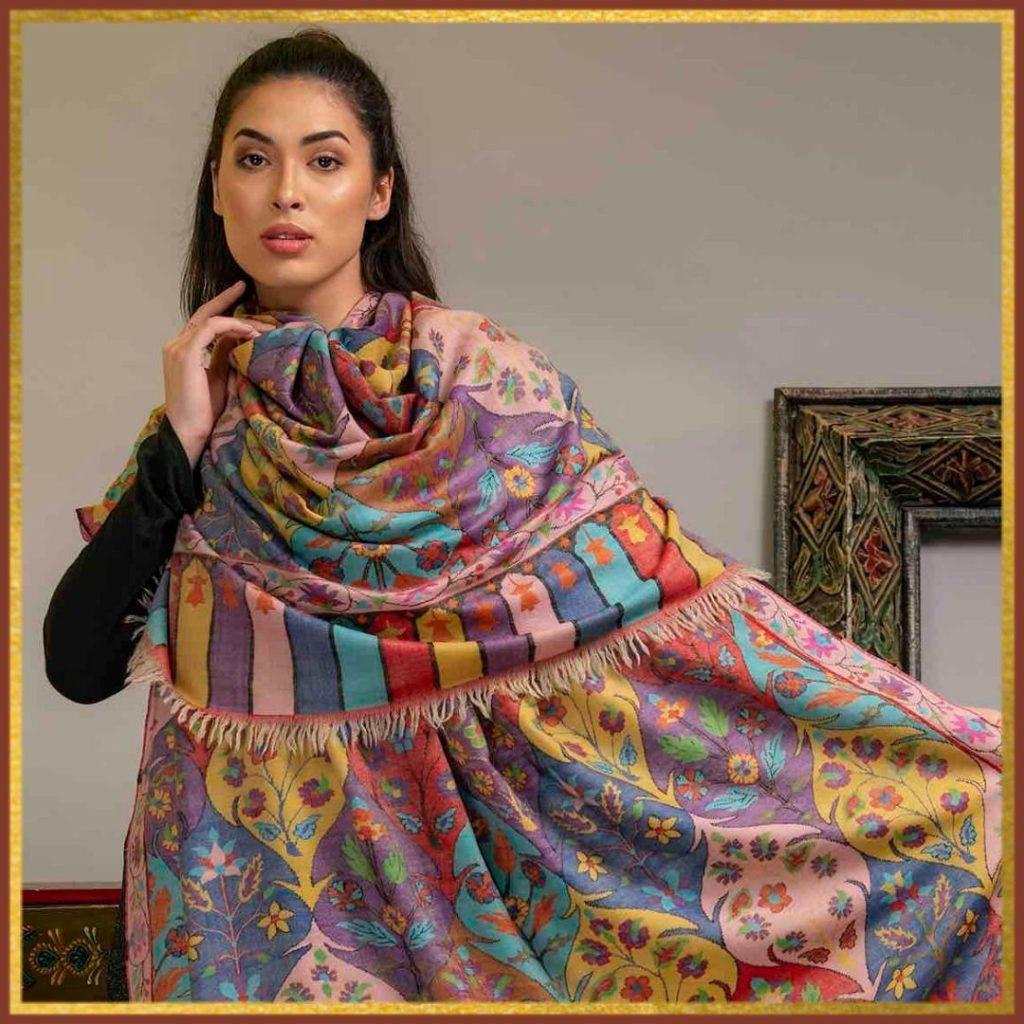 Kani Pashmina Shawl
